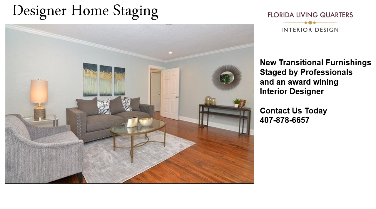 Designer Home Staging